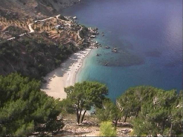 KARPATHOS PHOTO GALLERY - APELAS BEACH