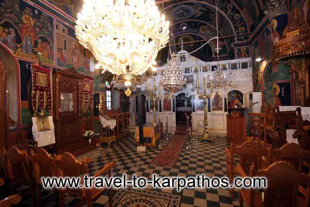 KARPATHOS PHOTO GALLERY - PANAGIA INSIDE
