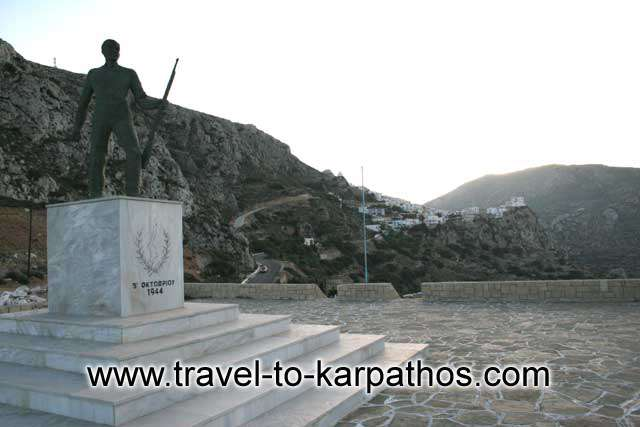 KARPATHOS PHOTO GALLERY - MEMORIAL