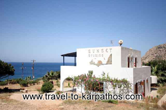 SUNSET STUDIOS  HOTELS IN  ADEIA - KARPATHOS