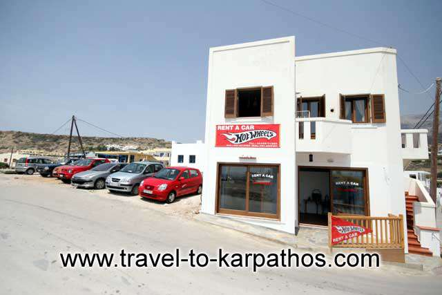 HOT WHEEL RENT A CAR  CAR RENTAL IN  LEFKOS - KARPATHOS