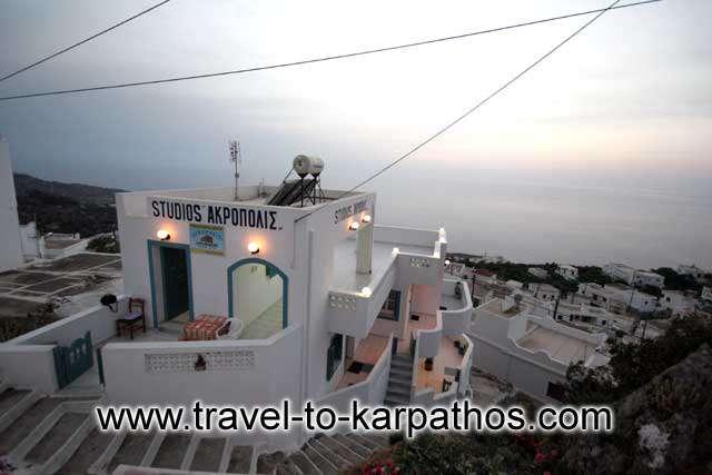 AKROPOLIS STUDIOS  HOTELS IN  MESOCHORI - KARPATHOS